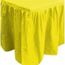 "Юбка для стола 75*400см ""Делюкс"" жёлтый Sempertex"