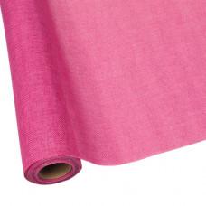 Джут искусственный 50см*4.5м розовый