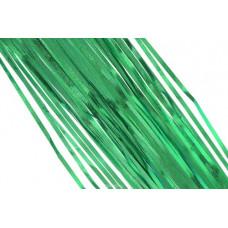 """Новогоднее украшение дождик зеленый """"Новогодняя искра"""" 10шт"""