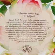 "Пакет для цветов 12*10 ""Роза патио"" 10шт"