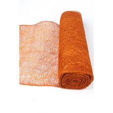 Сизафлор 330-14 микс с джутом оранжевый 48см*9м