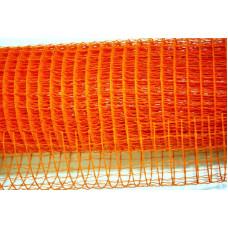 Лента Сетка 10см*10м оранжевая