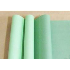 Бумага матовая двухсторонняя 70см*10м±10см салатовый пастель/зелёный пастель