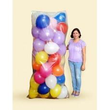 """Пакет для транспортировки надутых шаров многоразовый """"Balloon PE Bag"""" 1.2*2.42м"""