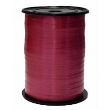 Лента бобина Полипропилен 0,5см*250м бургундия