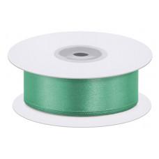 Лента атласная (3,8 см*22,85 м) Зеленый, 1 шт.