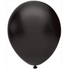 Шар (5''/13 см) Черный (807), пастель, 100 шт. Орбиталь