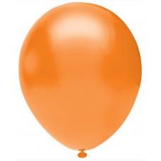 Шар (5''/13 см) Оранжевый (816), пастель, 100 шт. Орбиталь