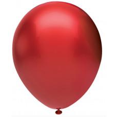 Шар (5''/13 см) Красный (903), металлик, 100 шт. Орбиталь