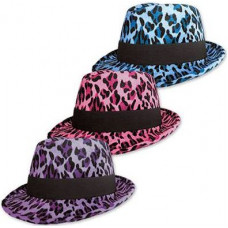 "Шляпа фетр ""Леопард"" ассорти"