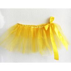 Юбка-пачка детская жёлтый