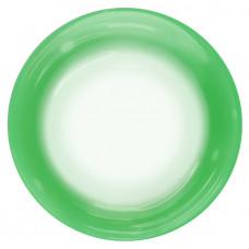 Шар (18''/46 см) Сфера 3D, Deco Bubble, Зеленый спектр, Прозрачный, 1 шт. Falali