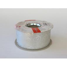 Лента Полипроп. металлизир. с рис. 50мм*50м (CX ARGENTO)