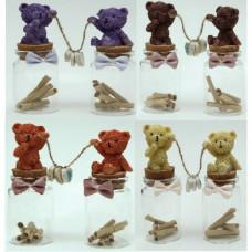 """Набор подарочный """"Медвежата"""" рыжий"""