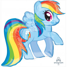 Шар (25''/64 см) Фигура, My Little Pony, Лошадка Радуга, 1 шт. в упак. Anagram