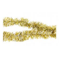 Мишура золото-серебряная 5,5 см 2 м