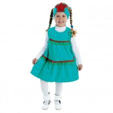 """Карн. костюм """"Ёлочка"""" платье.повязка со звездой 1,5-3г 98см"""