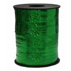 Лента Полипропилен голография 0,5см*250ярд зеленый