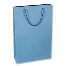 Пакет подарочный, Синий, 23*29*8 см, 1 шт.