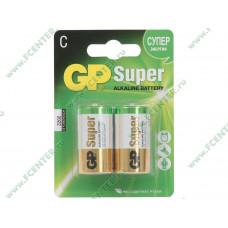Батарейка GP LR14 14A Super Alkaline BL-2/20 2шт