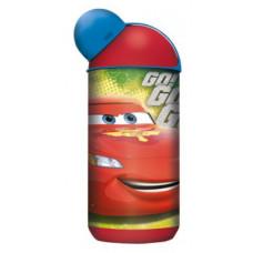 """Бутылка пластиковая 400 мл эрогономичная """"Тачки Грани гонок"""""""