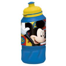"""Бутылка пластиковая 420 мл спортивная """"Микки Маус Символы"""""""