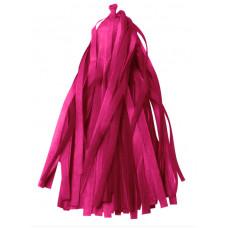 Гирлянда Тассел, Розовый, 35*12 см, 12 листов