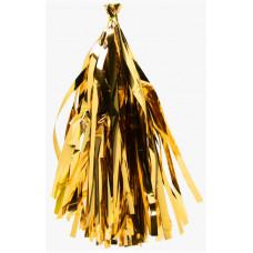 Гирлянда Тассел, Золото, металлик, 35*12 см, 12 листов