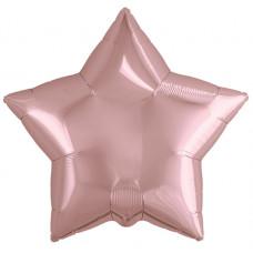 Шар (19''/48 см) Звезда, Розовое Золото, 1 шт. Agura