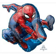 Шар (29''/74 см) Фигура, Человек-паук в прыжке, 1 шт. в упак. Anagram