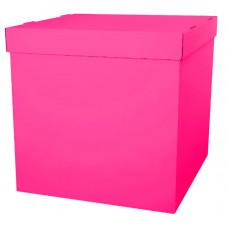 Коробка для воздушных шаров, Фуше, 60*60*60 см, 1 шт.