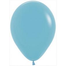 Шар (12''/30 см) Синяя бирюза (038), пастель, 50 шт. Sempertex