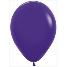 Шар (12''/30 см) Фиолетовый (051), пастель, 50 шт. Sempertex