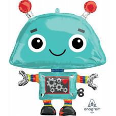 Шар (35''/89 см) Фигура, Робот, 1 шт. Anagram