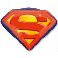Шар (26''/66 см) Фигура, Супермен эмблема, 1 шт. Anagram
