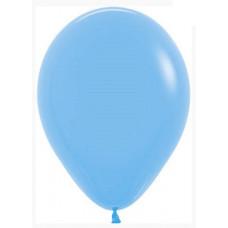 Шар (12''/30 см) Голубой (040), пастель, 50 шт. Sempertex