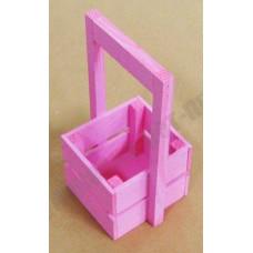 Ящик декоративный деревянный Л4-И 230*135*110 розовый