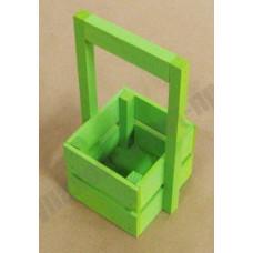 Ящик декоративный деревянный Л4-И 230*135*110 салатовый