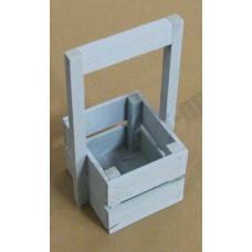 Ящик декоративный деревянный Л4-И 230*135*110 серый