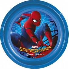 Тарелка пластиковая (9''/23 см) Человек-паук, 1 шт.