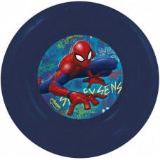 Миска пластиковая (7''/18 см) Человек-паук Граффити, 1 шт.
