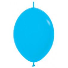 Шар-линколун 6д Пастель голубой 100шт Sempertex