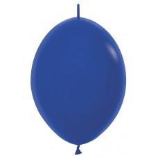 Шар-линколун 6д Пастель синий 100шт Sempertex