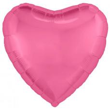 Шар (18''/46 см) Сердце, Розовый пион, 1 шт. Agura