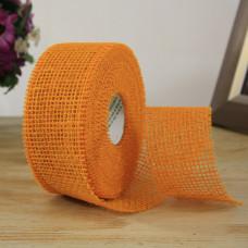 Лента мешковина 50-14 Оранжевый 5.0см*10м