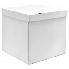 Коробка для воздушных шаров, Белый, 70*70*70 см, 1 шт.