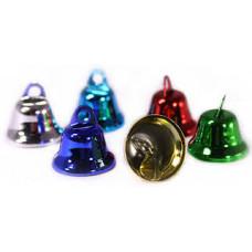 Колокольчики разноцветные 51/90 металл d 0.8см 50шт