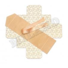 Сборная коробка крафт пенал из эко картона 11.5*11.5*7см  5шт
