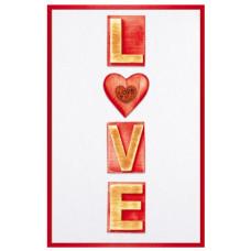 """Открытка А5 """"LOVE"""""""