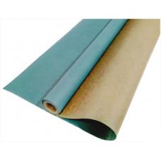 Упаковочная бумага, Крафт 40гр (0,7*10 м) Морская волна, 1 шт.